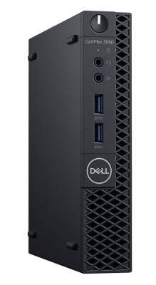DTDEN003O3060MFF Dell Optiplex 3060 Core i3-8100T 3.1GHz 500GB Micro From Factor Desktop PC with Windows 10 Pro