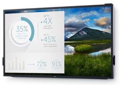 "210-AMFZ DELL C8618QT 85.6"" 4K IPS 4K IPS LED Interactive Touch Monitor"
