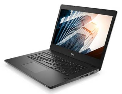 "N003L3480K14EMEA-BUNDLE Dell Latitude 3480 7th gen Notebook Intel Dual i3-7100U 2.40Ghz 4GB 500GB 14"" WXGA HD HD620 BT Win 10 Pro"